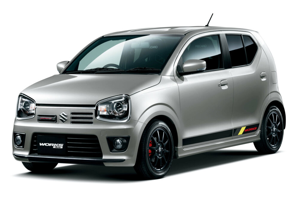 スズキ・アルトワークス  新車価格:154〜169万円