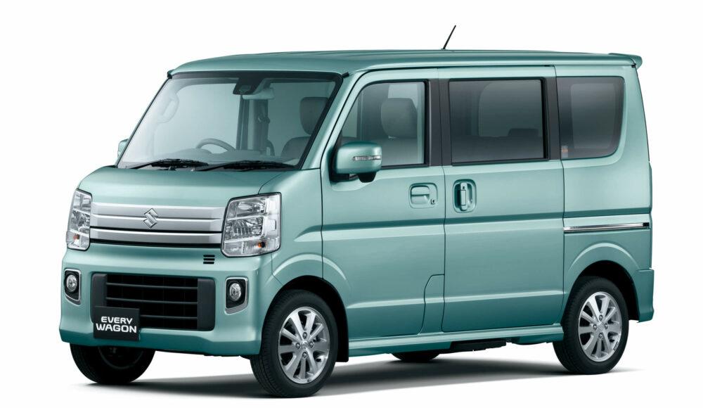 スズキ・エブリイワゴン  新車価格:151〜187万