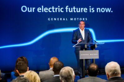GMも電動化へ前進、初の電気自動車専用工場をデトロイトに開設