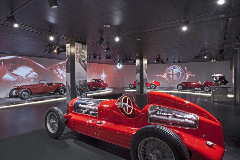 ミラノ・アレーゼのアルファロメオ歴史博物館