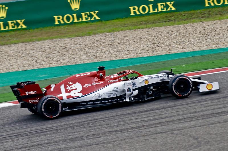 2019年 F1 上海グランプリ アルファロメオ レース走行