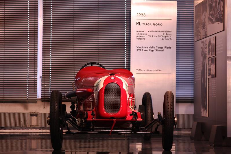 1923年製 RL タルガ・フローリオ フロント