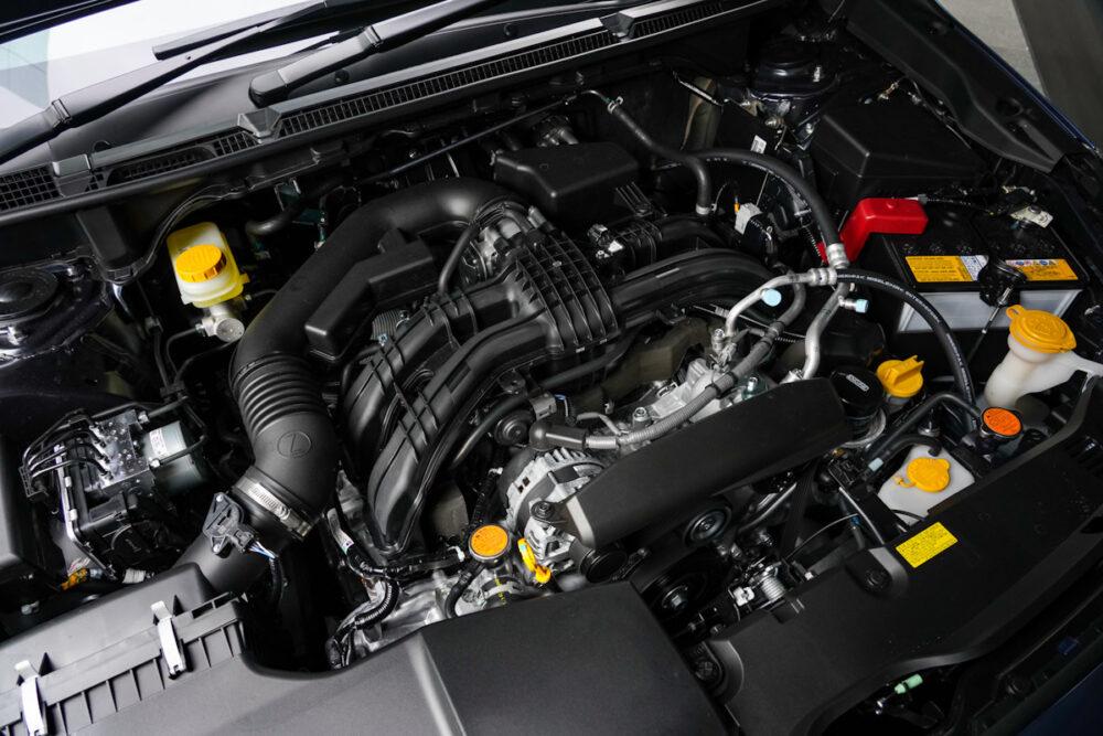 スバル インプレッサのエンジン