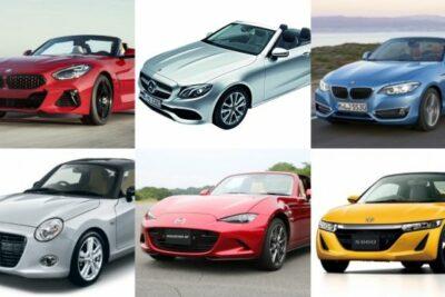 外車&国産人気おすすめオープンカー全車種ランキング比較【2019年最新版】