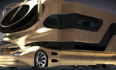 価格3億円以上!世界一高いキャンピングカーの設備が高級すぎる衝撃映像