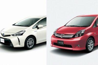 トヨタアイシスは新型へフルモデルチェンジせずに販売終了!後継車は?