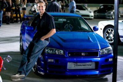 ポールウォーカーの愛車 日産スカイラインGTR R34が販売中!価格は?
