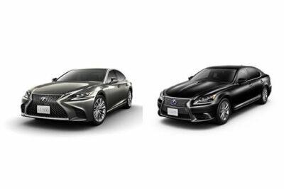 【レクサス新型LS新旧モデル比較】価格とスペックやボディサイズの違いを一覧で比較