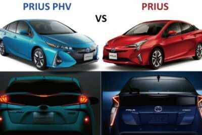 新型【プリウスvsプリウスPHV】違いを比較!ハイブリッドとPHV燃費やコスパは?