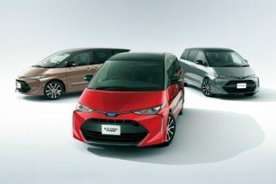 トヨタ新型エスティマ最新情報!価格や発売日&FCVやPHV追加についても
