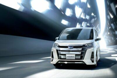 トヨタ新型ノアがマイナーチェンジ発売開始で精悍さを強調!燃費や価格と内装&外装も