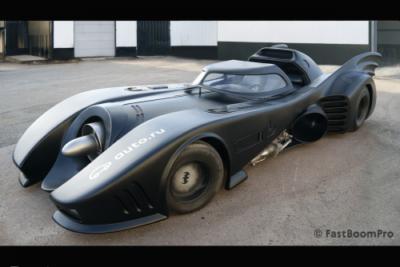 【急げ】バットモービルが中古車サイトで販売中!7.5L 550馬力エンジン最高速250キロで価格は…