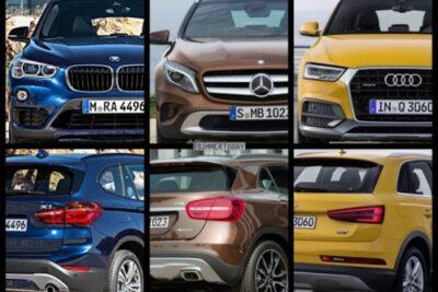 【BMW X1vsベンツGLAクラスvsアウディQ3比較】ドイツ車人気SUVおすすめは?