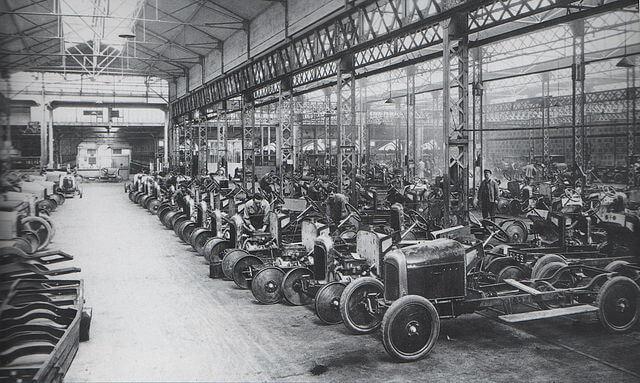 シトロエン 創業時 製造工場