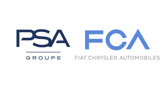PSAとFCAのロゴ