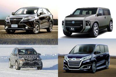 【トヨタ】新型車デビュー・モデルチェンジ予想&スクープ|2020年5月最新情報