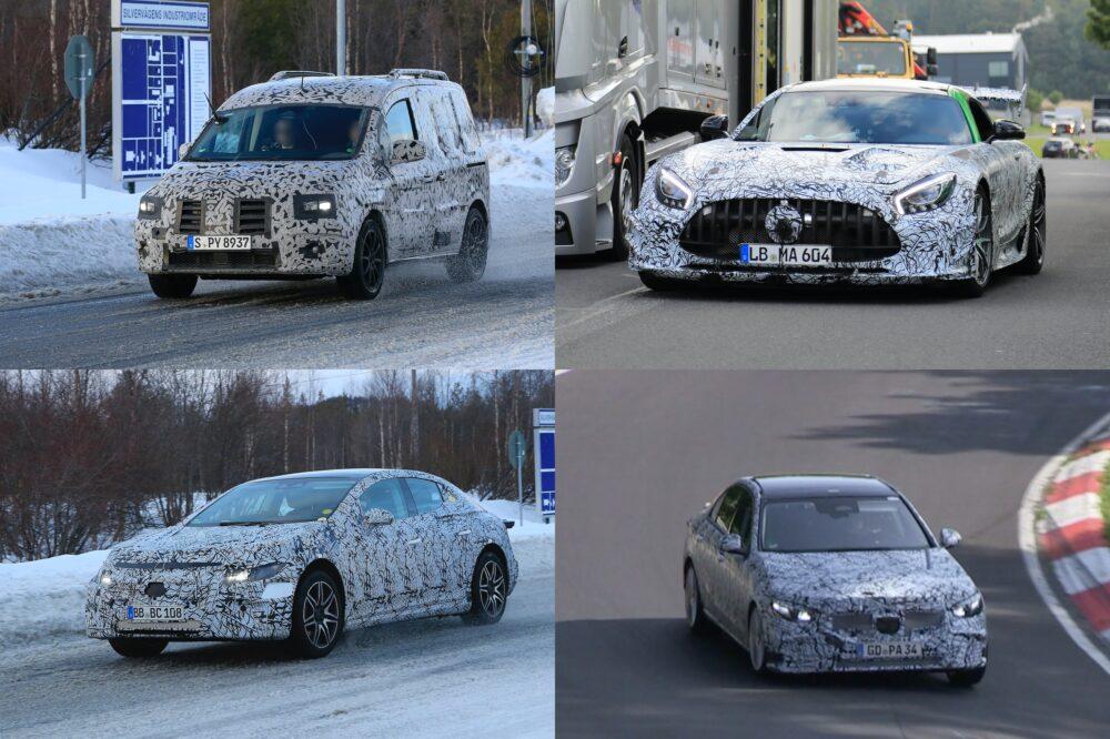 【メルセデス・ベンツ】新型車スクープ・モデルチェンジ予想|2020年7月最新情報