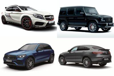 【メルセデス・ベンツのSUV】新車全19車種一覧比較&口コミ評価|2020年4月最新情報