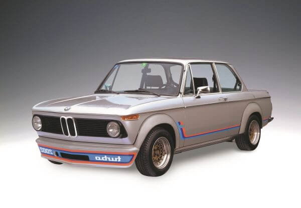 BMW 2002 ターボ フロント サイド