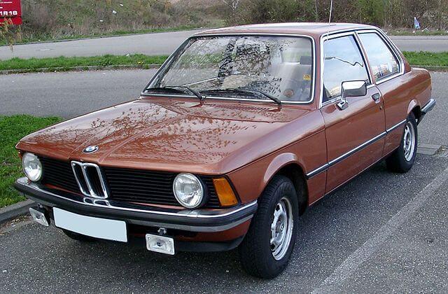 BMW 初代 3シリーズ フロント サイド