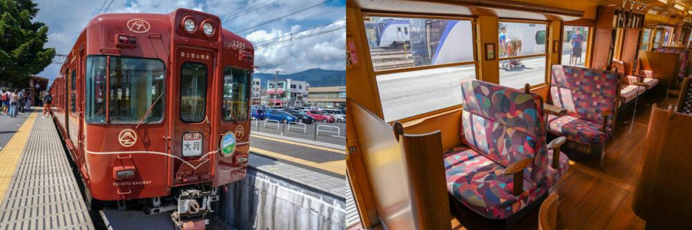 富士急行線「富士登山電車」