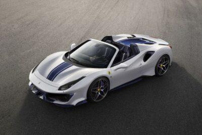 【フェラーリ新型488ピスタスパイダー最新情報】ペブルビーチで発表!スペックや価格と発表日は?