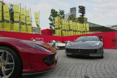 フェラーリ70周年記念イベント10月12-14日開催!概要とアペルタ日本初公開