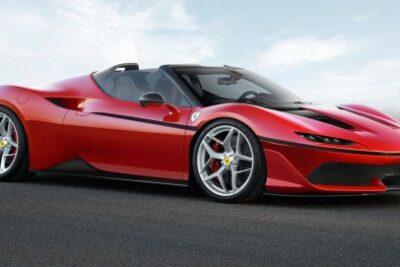 新型フェラーリ J50世界初公開!日本進出記念モデル価格は3億円超