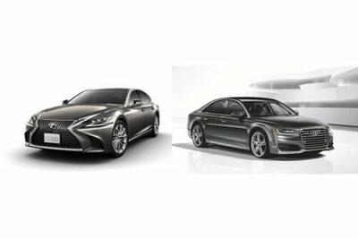 【レクサスLS vs アウディA8セダン】ライバル車徹底比較!