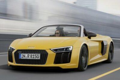 新型アウディR8スパイダーV10発売開始!価格やスペック・性能は?