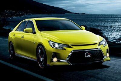 トヨタ マークX「GR-S(G's)」最新情報!発売日は9月19日で価格やデザイン・スペックは?