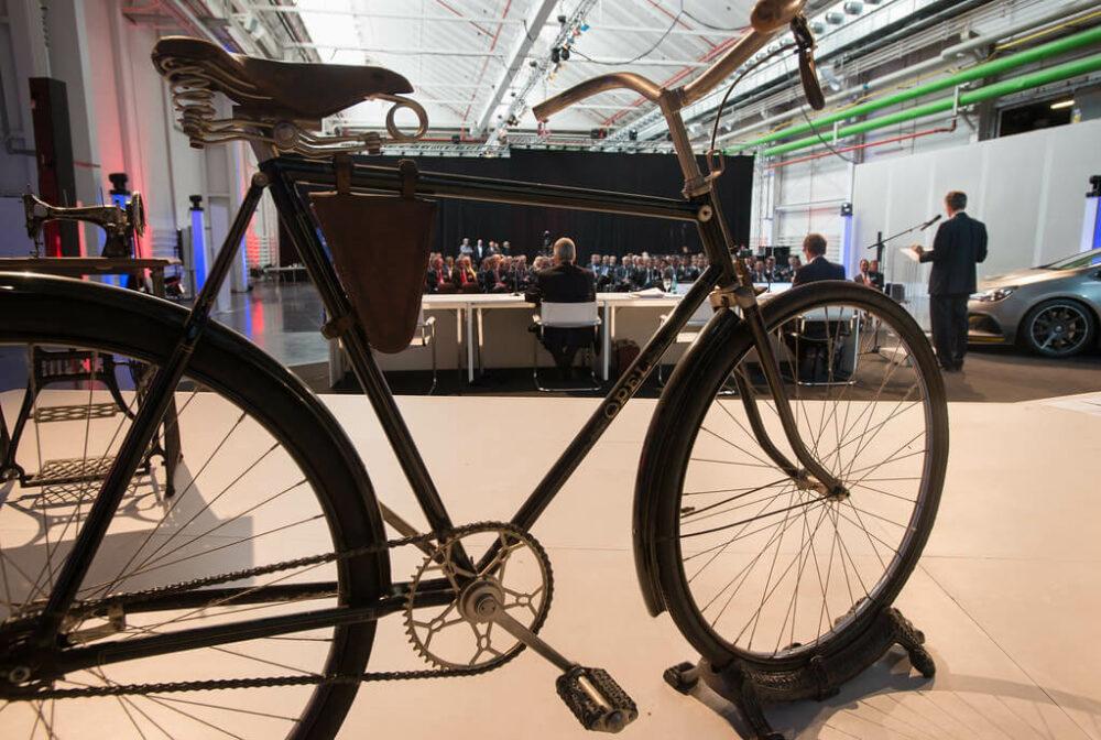 オペル製造自転車