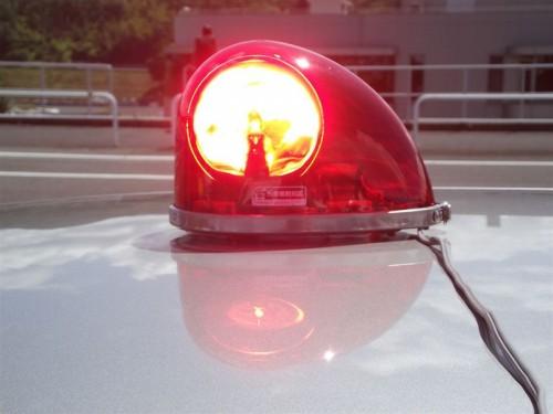 反転式警光灯