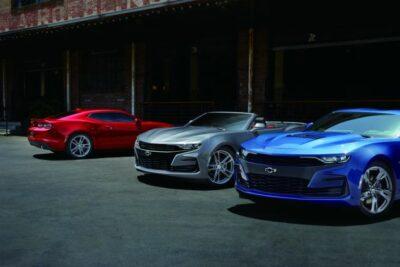 シボレーカマロが新型マイナーチェンジ発表V8モデルは10速AT採用!