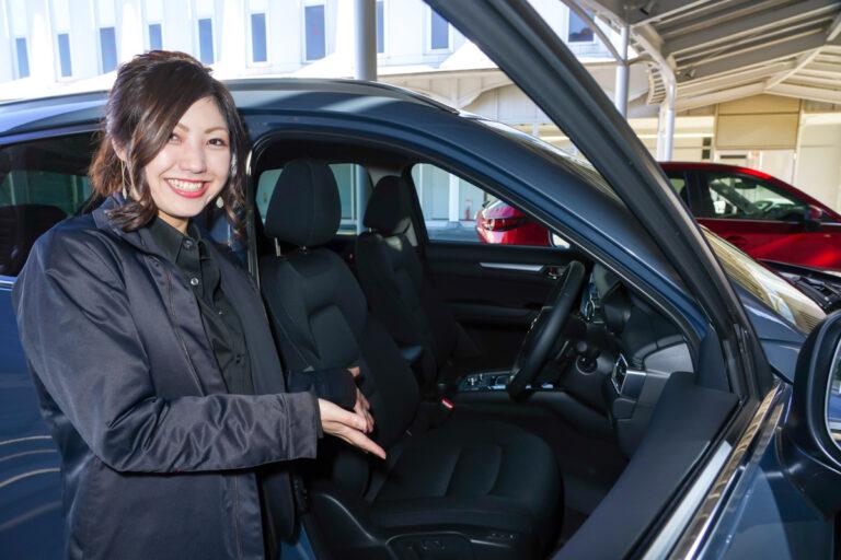 マツダ女性開発者が改良型CX-8・CX-5のシートを解説!【開発裏話】