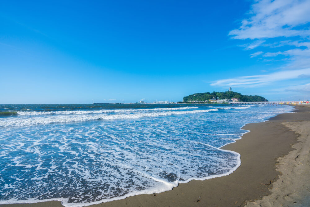 江ノ島の夏 東浜
