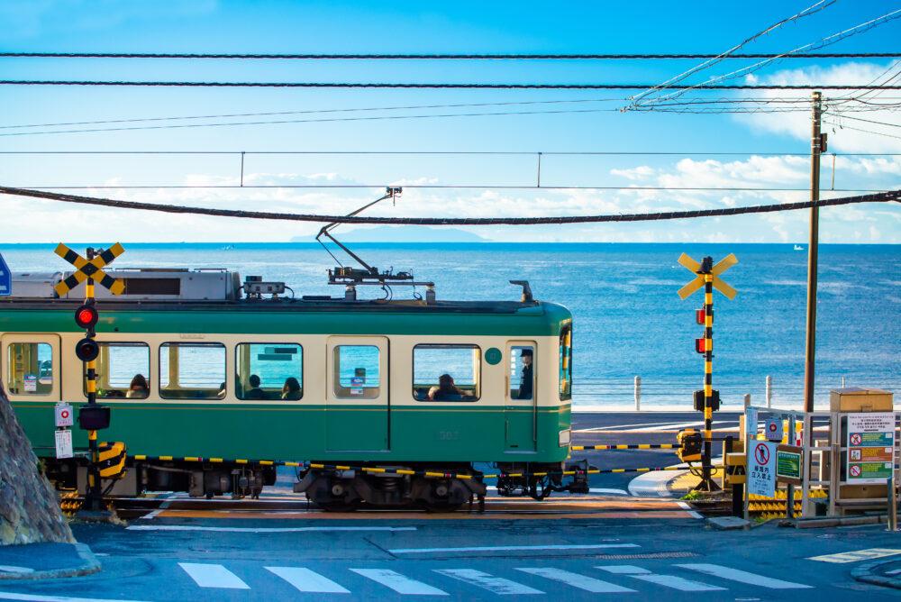 江ノ電の踏切