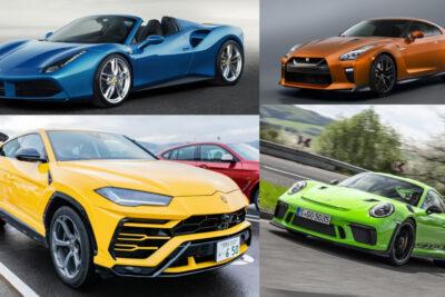【2019年最新】かっこいい車ランキング30選!世界が認めた名車から新型車まで