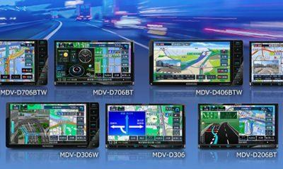ケンウッドの特定販路向けナビDシリーズ「MDV-D706」「MDV-D406」「MDV-D306」「MDV-D206」が発表!変更点は?