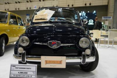 【ジャンニーニ500シリーズ】知る人ぞ知るフィアット・チンクエチェントのチューンモデル