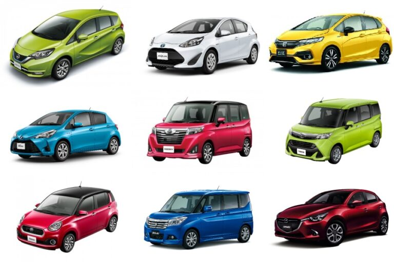 コンパクトカー人気おすすめランキング!販売台数・燃費・価格の安さで比較