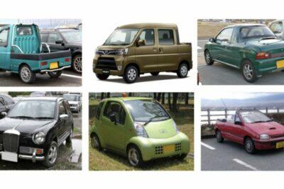 レアな軽自動車7選! 4人乗りオープンカーから1人乗りモデルまで