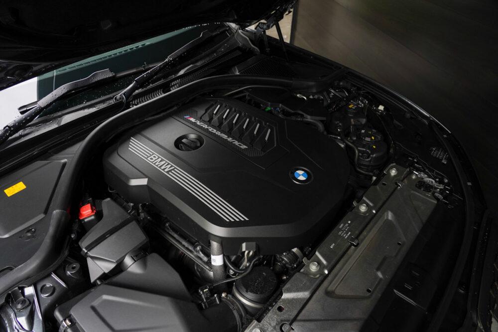 BMW M340iのエンジン
