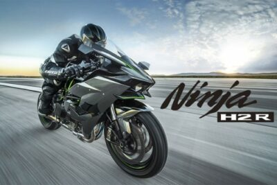 世界一速いバイク「カワサキ ニンジャH2R」衝撃の世界最速記録動画公開!時速400キロ