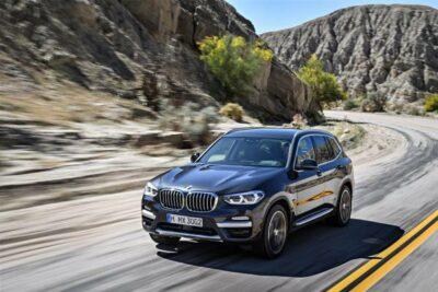 BMW X3新型へフルモデルチェンジ10月19日発売開始!価格や燃費は?
