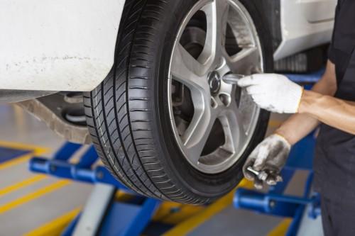 タイヤの整備