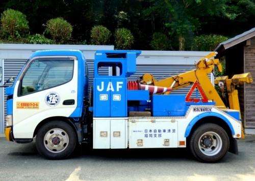 JAFのレッカー車両