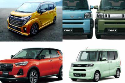 【ダイハツ】新型車デビュー・モデルチェンジ予想&新車一覧|2020年5月最新情報