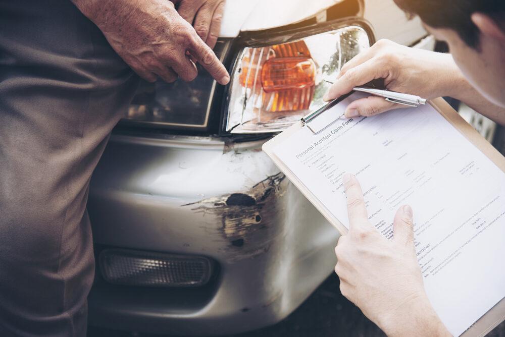 保険請求のための損害調査