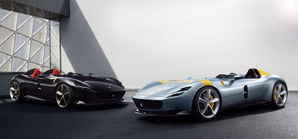フェラーリ モンツァ SP1/SP2